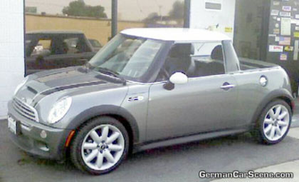 El Mini Cooper S convertido en una mini pick-up