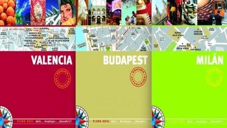Prácticos plano-guías para descubrir las ciudades