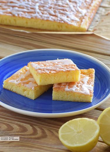 Bizcochitos esponjosos de naranja y limón. Receta