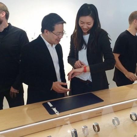 ¿Es Liu Wen la nueva imagen del Apple Watch?