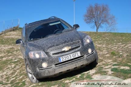 Chevrolet Captiva Sport VCDi, prueba (parte 2)