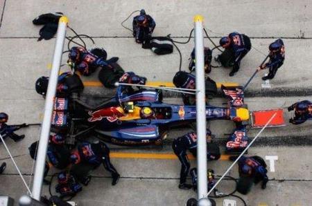 La tecnología llega a los mecánicos de Red Bull