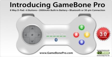 GameBone Pro mando para iPhone