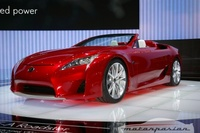 Lexus LF-A Roadster en el salón de Ginebra