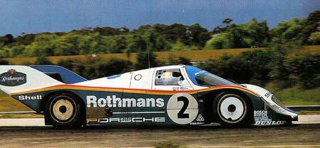 Base, carretera y circuito: la pequeña aventura de los Porsche 956 oficiales en Sandown