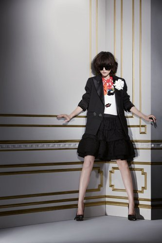 Lanvin para HM Otoño-Invierno 2010/2011 blazer negro