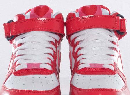 San Valentín: zapatillas Nike Air Force 1 Mid