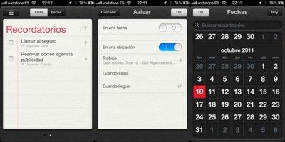 Cómo usar un mapa con una localización en los recordatorios de iOS