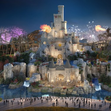 El nuevo parque temático de Londres 'The London Resort': una versión de Disneyland con sello de Paramount Pictures