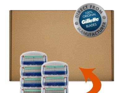 Pack de ocho recambios Gillette Fusion por 20 euros