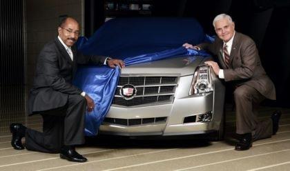 2008 Cadillac CTS, previo al salón de Detroit