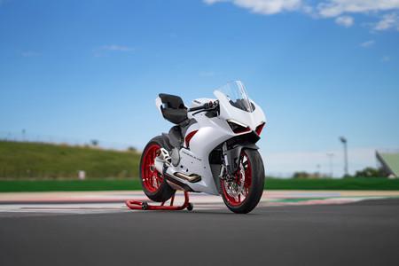 Ducati Panigale V2 White Rosso 2020