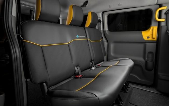 Nissan e-NV200 taxi eléctrico Barcelona 04