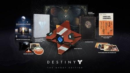 Estos son los contenidos de las dos Ediciones Coleccionista de Destiny