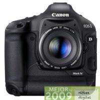 Canon 1D Mark IV, mejor cámara réflex de 2009