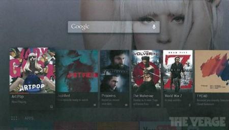 Así son las primeras imágenes de Android TV