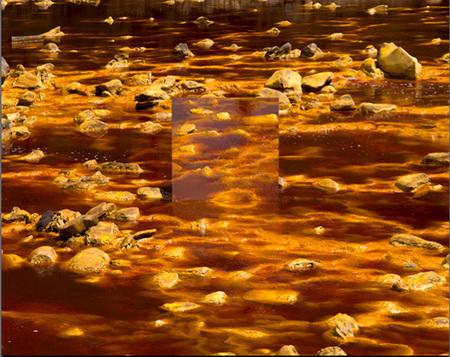 VOM Río Tinto, Huelva, España.