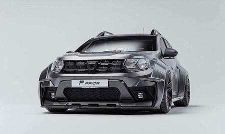 ¡Anabolizantes para el SUV superventas! El Dacia Duster más deportivo, por cortesía de Prior Design