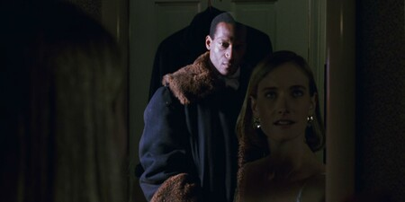 Candyman Appears In Mirror Behind Victim