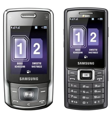 Samsung B5702 y C5212, con dual SIM