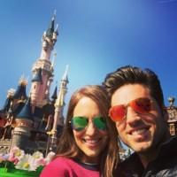 Paula Echevarría y David Bustamante se van de aniversario mágico