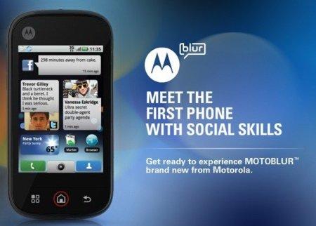 Motorola no quiere hablar públicamente de MOTOBLUR