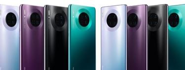 Huawei Mate 30 Pro frente a la mejor gama alta: batería enorme y diseño para compensar el sistema operativo