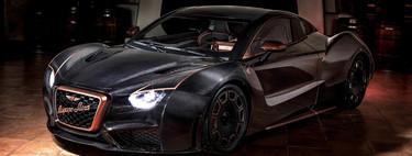 El Hispano Suiza Carmen Boulogne es un superdeportivo eléctrico de 1.114 CV y 1,65 millones de euros con traje de fibra de carbono