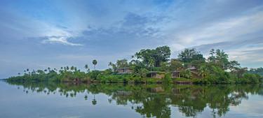 Espectacular hotel en la selva de Sri Lanka