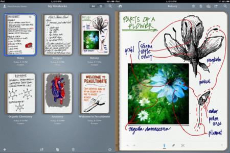 Aplicaciones de dibujo en iOS - Penultimate
