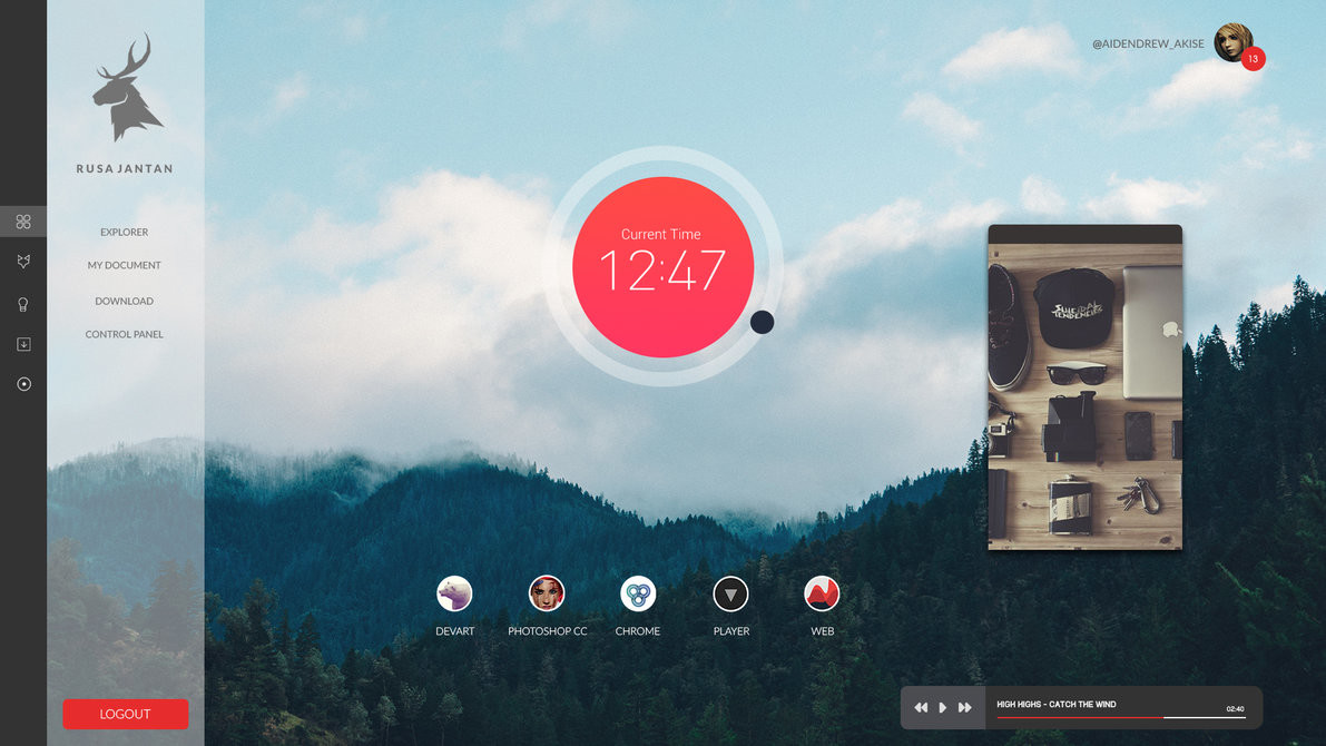 Rainmeter Themes