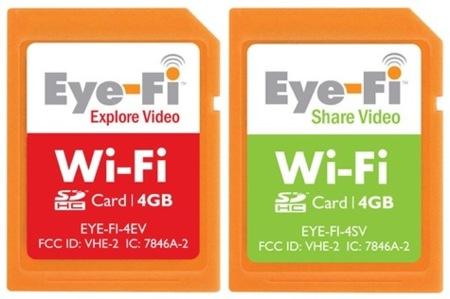 Eye-Fi lanza sus tarjetas compatibles con vídeo