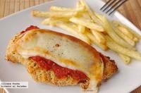 Receta de pechugas de pollo a la parmesana