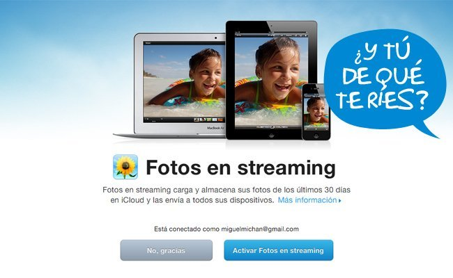 iCloud Photostream