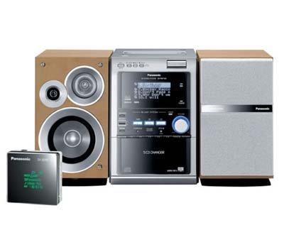 Minicadena Panasonic SC-PM7190, soporte para SD