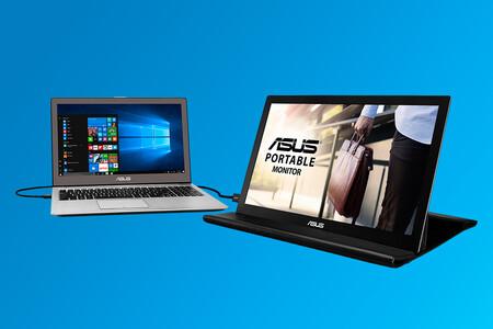 Este monitor portátil Asus es un buen compañero de verano para el ordenador o videoconsola a 118,99 euros en Amazon, su mínimo
