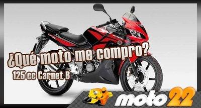 ¿Qué moto me compro? Carnet B, Honda CBR 125R
