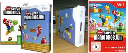 'New Super Mario Bros. Wii' y sus cajas fuera de lo común