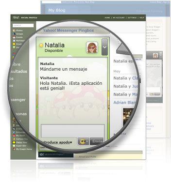 Yahoo Messenger Pingbox