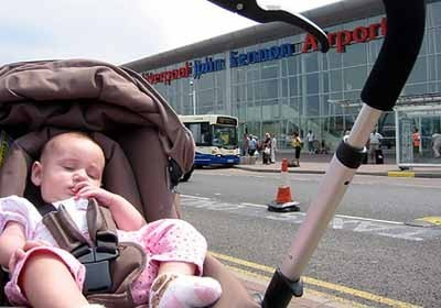La foto de tu bebé: primer viaje a Liverpool