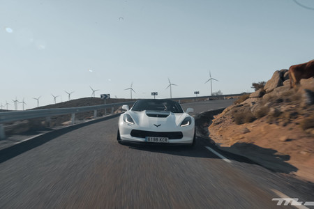 Corvette Z06 Prueba frontal