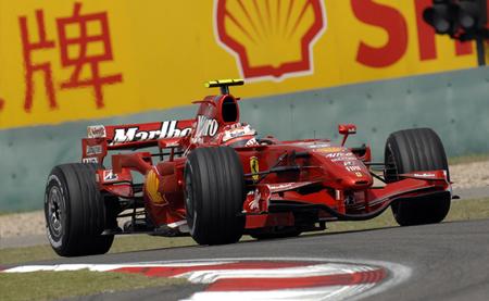 Kimi Raikkonen China 2007
