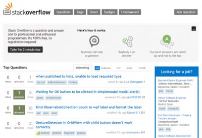 De cómo las tripas de Stack Overflow aguantan el éxito