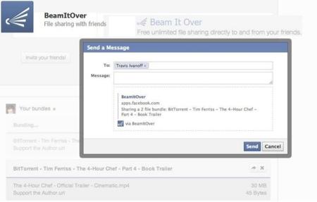 BitTorrent presenta BeamItOver, su aplicación para compartir archivos desde Facebook