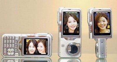 LG KG920, con cámara de 5 megapíxeles