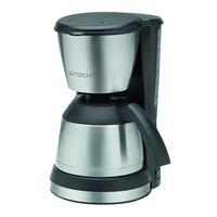 Hasta 10 tazas de café con la cafetera de goteo con jarra termo Clatronic KA 3563 por sólo 32,85 euros en Amazon