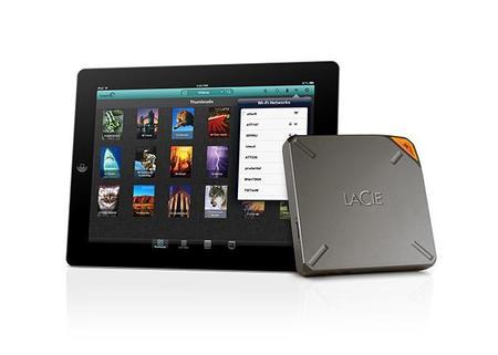 LaCie Fuel, un disco externo inalámbrico para dispositivos Apple