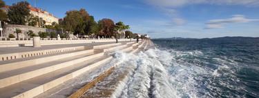 Escucha la musica del mar gracias al órgano impulsado por las olas en Zadar, Croacia