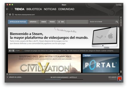 Steam Valve Mac videojuegos Portal Half Life Left 4 Dead Source