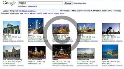 Imágenes libres de derechos con Google Images